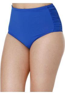 Calcinha De Biquíni Hot Pants Feminina Azul