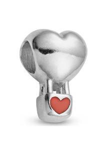 Pingente Life Balão De Coração