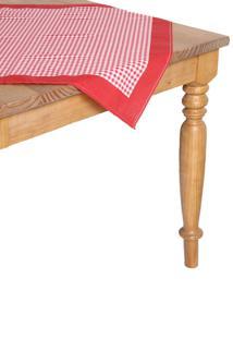 Toalha De Mesa Karsten Dia A Dia Set Picnic Quadrada Vermelha