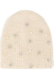 Jennifer Behr Gorro Flurries - Branco