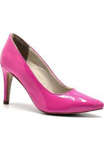 Scarpin Renne Marcel Tallulah Feminina - Feminino-Pink