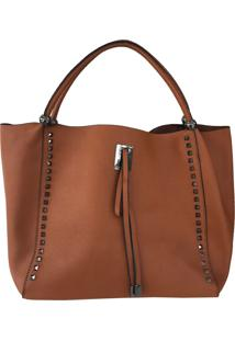 Bolsa Bag Dreams Shop Bag Leila Caramelo