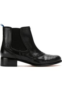 Blue Bird Shoes Bota 'York' De Couro - Preto