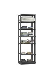 Closet 1002C Cinza - Be Mobiliario