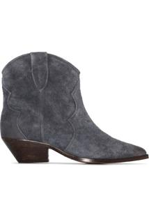 Isabel Marant Dewina 40Mm Ankle Boots - Cinza