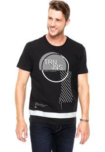 Camiseta Triton Regular Preto