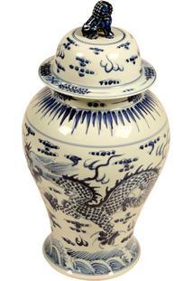 Vaso Decorativo De Porcelana Conan