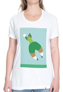 Ponte I Voe Como Uma Garota - Camiseta Basicona Unissex
