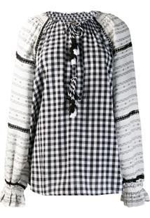 Dodo Bar Or Blusa Estampada Com Modelagem Solta - Preto