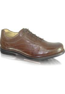 Sapato Anatomic Gel 454560 Couro Troy - Masculino