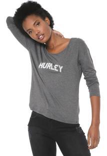 Blusa Hurley Lounge Cinza