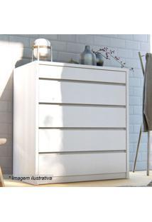 Criado Mudo Premium- Branco- 96,3X90X52Cmcasa D