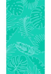 Toalha De Praia Beach - Appel - Folhagem Aqua Fresh,