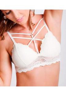 Sutiã Rendado Strappy Bra Darling (314.71)
