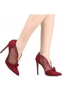 Sapato Cecconello Scarpin Salto Fino