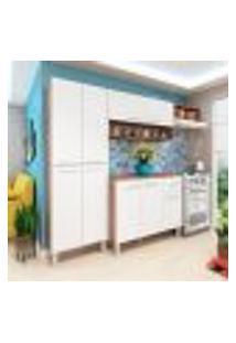 Cozinha Compacta Madri 9 Pt 1 Gv Teka E Branca