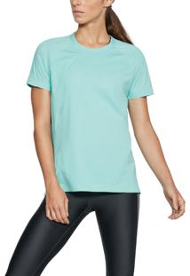 Camiseta Under Armour Camiseta Under Armour Motivator Graphic Feminina Azul - Kanui