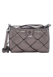 Bolsa Capodarte Shoulder Bag Metalizada