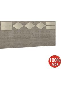 Cabeceira Casal 100% Mdf 22981 Demolição/Marfim Areia - Foscarini