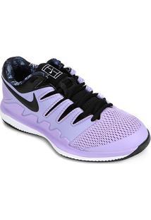 Tênis Nike Air Zoom Vapor X Feminino - Feminino-Roxo+Preto