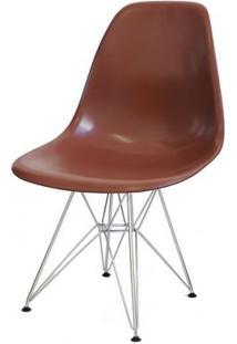 Cadeira Dkr Em Polipropileno Mobitaly - Café