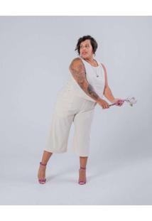 Calça Pantacourt Almaria Plus Size Miss Taylor Bol