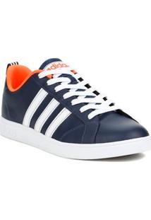 Tênis Casual Masculino Adidas Advantage Vs Azul/Branco