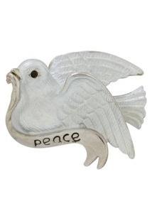 Broche Pomba Peace Brg6282