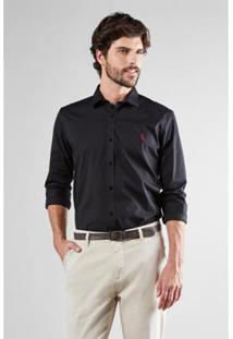 Camisa Reserva Enxuto Elastano Masculina - Masculino