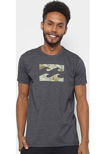 Camiseta Billabong Team Wave Masculina - Masculino