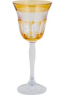 Taça De Cristal Lodz Para Vinho De 170 Ml - Âmbar Glassic