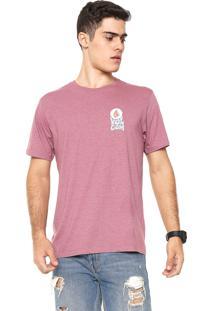 Camiseta Volcom Sundown Rosa