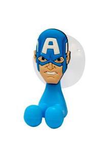 Porta Escova De Dente Avengers Capitão América - Etident