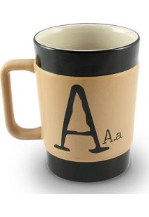 Caneca Coffe To Go-A 300Ml-Mondoceram - Pardo