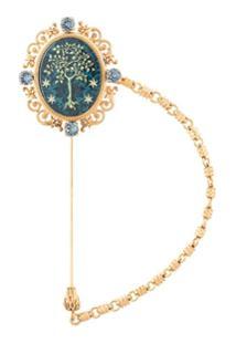 Dolce & Gabbana Broche Clássico - Dourado
