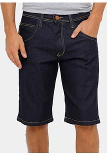 Bermuda Jeans Hd Masculina - Masculino-Marinho