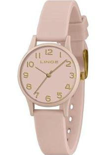 Relógio Lince Feminino Styles Analógico - Feminino-Rosa