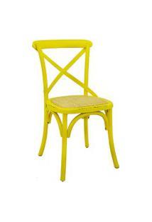 Cadeira Katrina Amarela Rivatti
