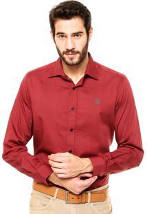 Camisa Forum Regular Fit Vinho