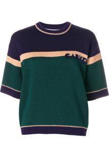 Carven Blusa 'Scarabee' De Tricô - Verde