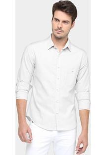 Camisa Sérgio K. Mesclado Slim Fit - Masculino