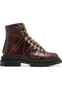 Sandro Paris Ankle Boot Elton - Marrom