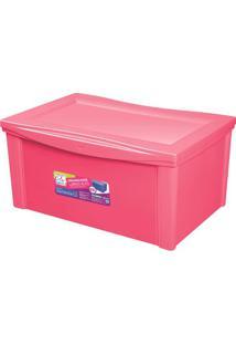 Caixa Organizadora Color- Rosa- 30,7X63,5X42,5Cmordene