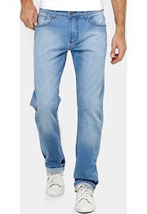 Calça Jeans Reta Forum Paul Regular Índigo Masculina - Masculino