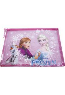 Necessaire Minas De Presentes Frozen Rosa
