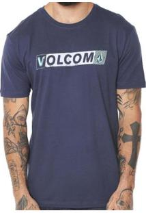 Camiseta Volcom Silk Transmit Masculina - Masculino