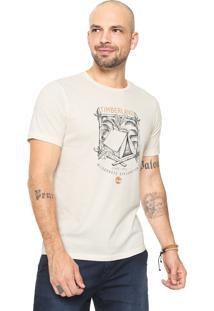 Camiseta Timberland Camping Off-White