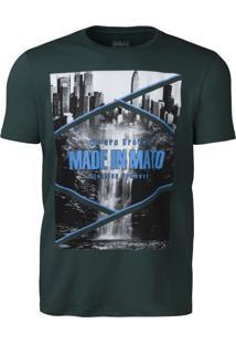 Camiseta Made In Mato Musgo