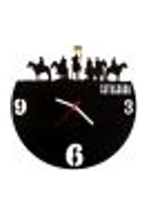 Relógio De Parede Decorativo - Modelo Cavalgada