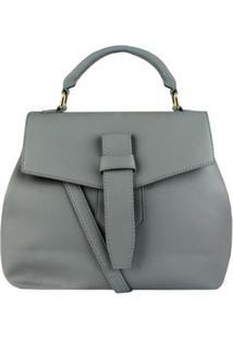 Bolsa Mão + Tranversal Le Postiche Fam Belt - Unissex-Marfim